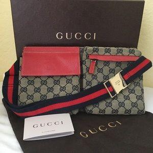 Gucci Fanny Pack Cherry Line Belt Body Bag GM